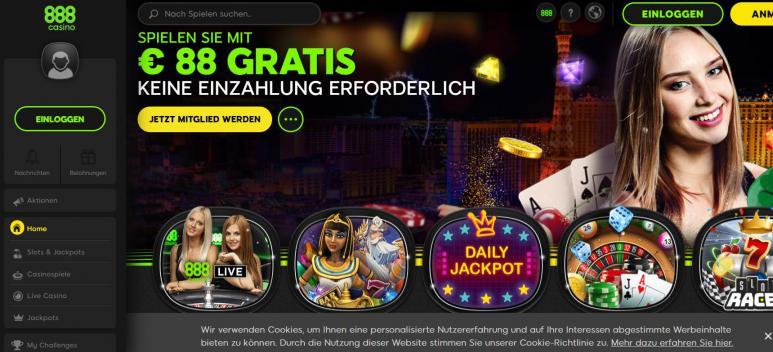 Erfahrungen Mit 888 Casino
